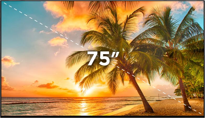 """75"""" Bilgilendirme Ekranı"""