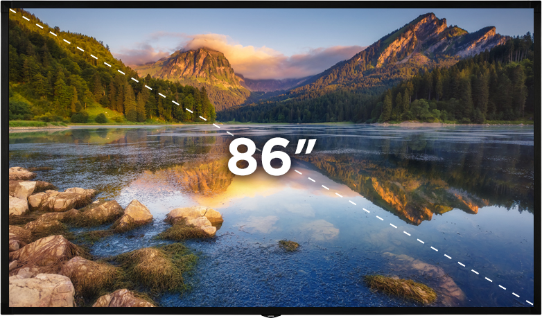 """86"""" Bilgilendirme Ekranı"""