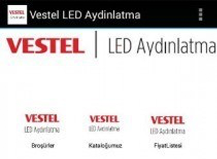 Vestel LED Aydınlatma Application'ı Google Play Store'da!