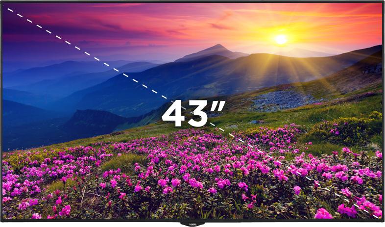"""43"""" Bilgilendirme Ekranı"""