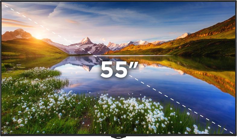 """55"""" Bilgilendirme Ekranı"""