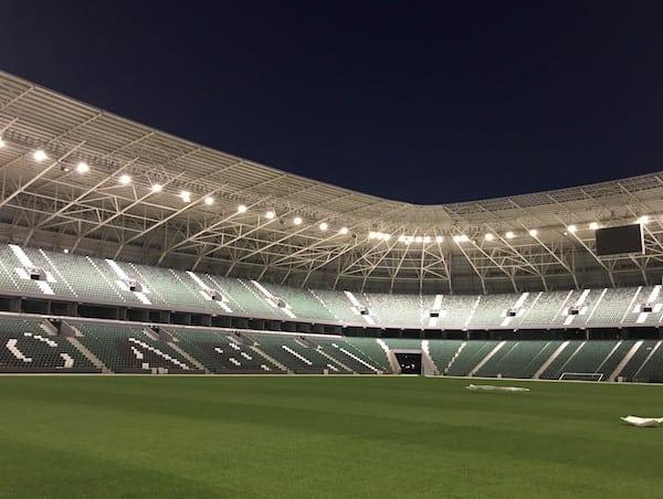 Kocaeli Stadyumu'nun Aydınlatma Çözümü; VESTEL'den!