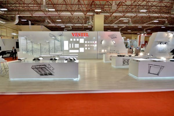 Vestel, 1-4 Ekim tarihlerinde LED&Lighting fuarındaydı