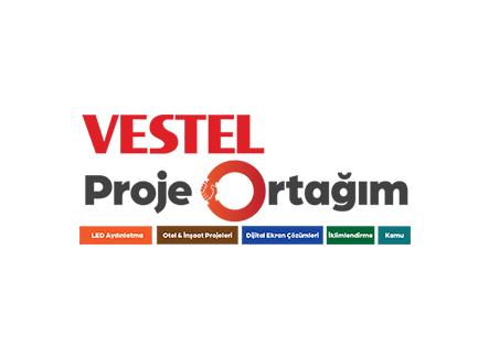 VESTEL Proje Ortağım, tüm ürün grupları ile hizmetinizde…