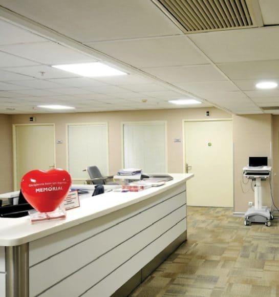 Memorial Şişli Hastanesi Vestel LED'lerle Aydınlatıldı