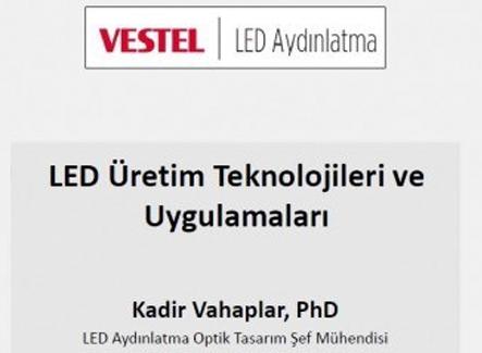 Vestel LED Aydınlatma Voltimum aracılığıyla ilk webinarını gerçekleştirdi